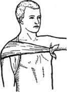 Косиночна пов'язка на плече