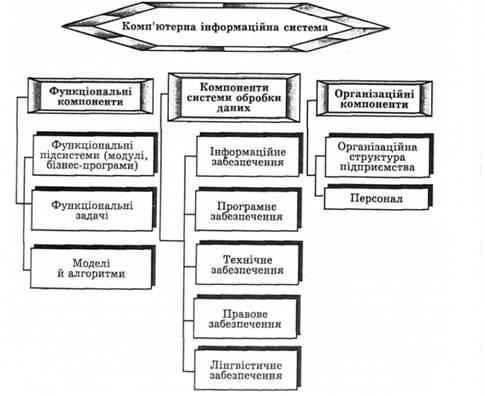 Структура комп ютерної інформаційної