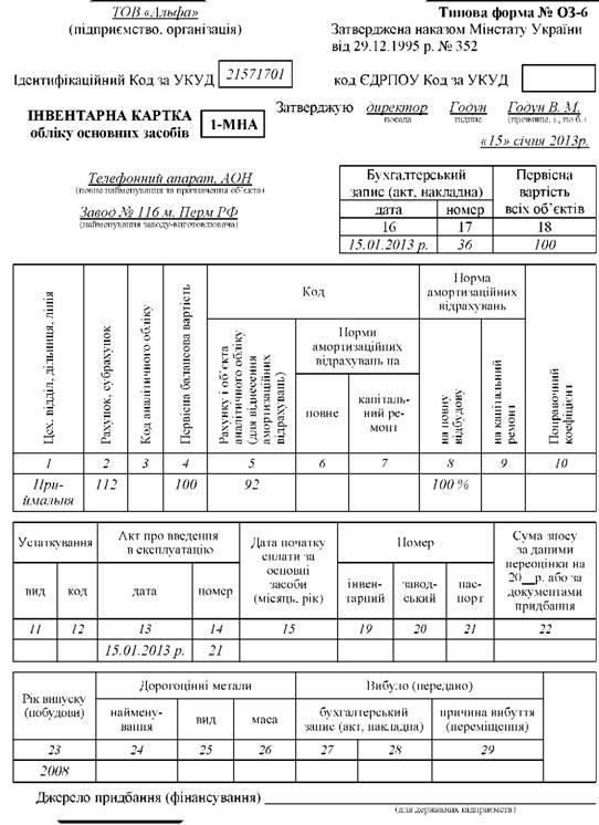 Бланк Типова Форма Оз 6 Бюджет - фото 2