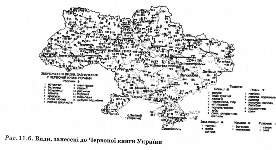 Ресурсів тваринного світу україни