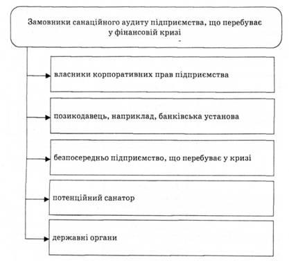 Замовники санаційного аудиту