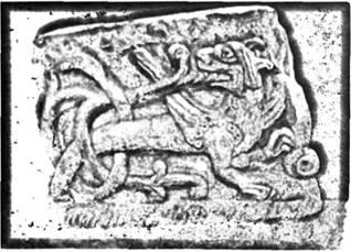 Симаргл на Чернігівському рельєфі